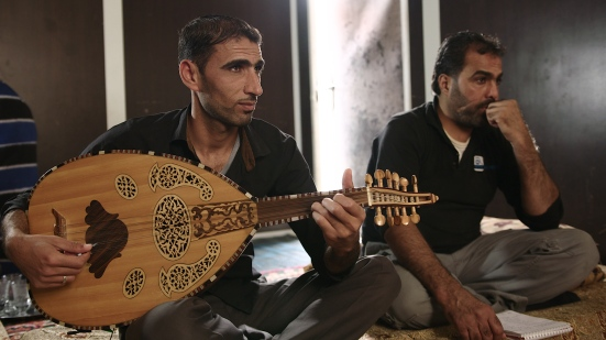 Abu Abdullah (left), Mohamad Isa Almaziodi (right)-©Recording Earth-Free1
